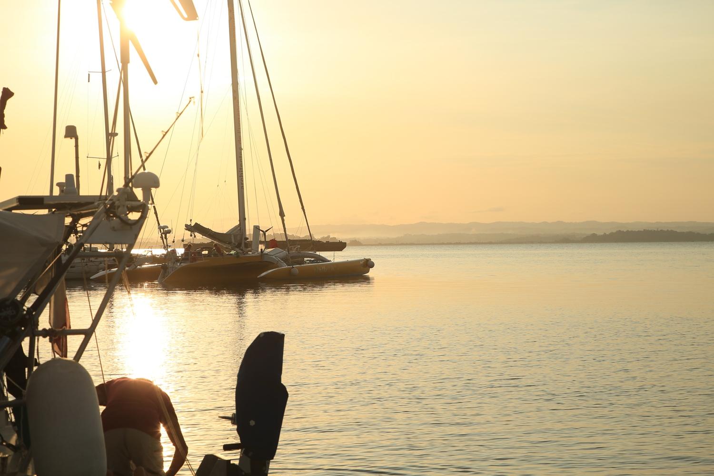 1 Gatun Lake in the early morning